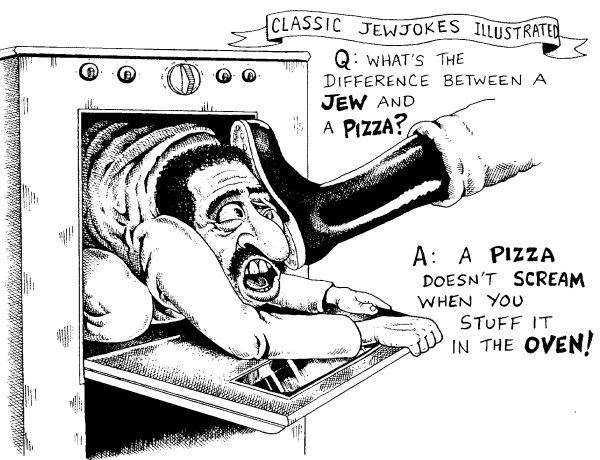 Image result for jews in pizza ovens